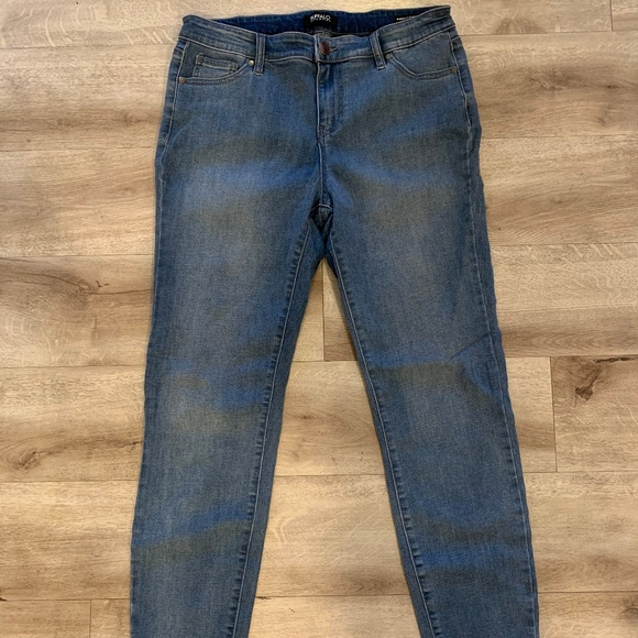 Buffalo David Bitton Ladies/' Stretch Capri Blue US Size 6//28 NWOT
